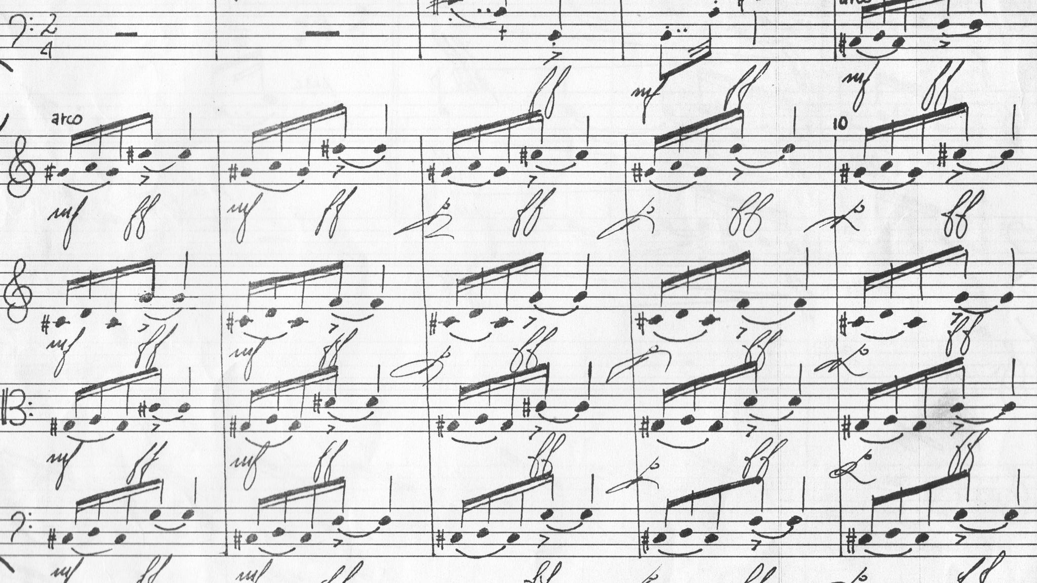 Gioco in 40 battute per quartetto d'archi, 1989